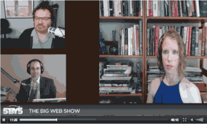 me on the big web show with zeldman and benjamin